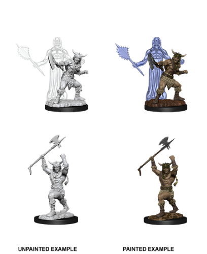 Male Human Barbarian: D&D Nolzur's Marvelous Unpainted Miniatures